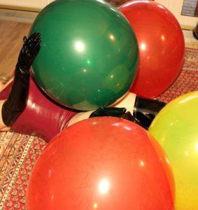 Komm zu meiner Ballon Session