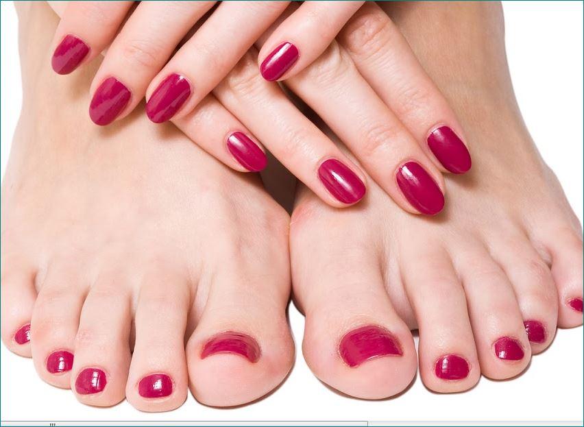 Du bist ein Fetischfan von lackierten Finger und lackierten Fußnägeln ?